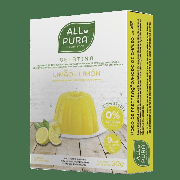 gelatina limao allpura