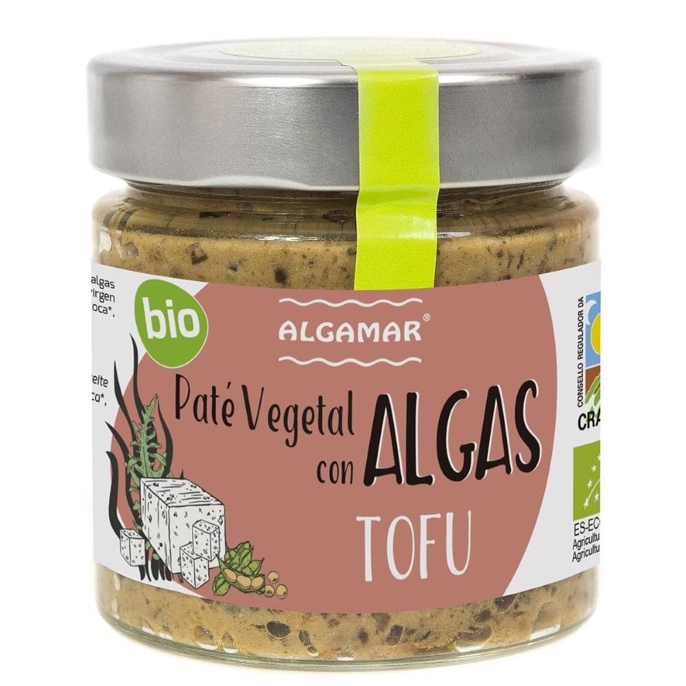pate vegetal com algas e tofu bio algamar