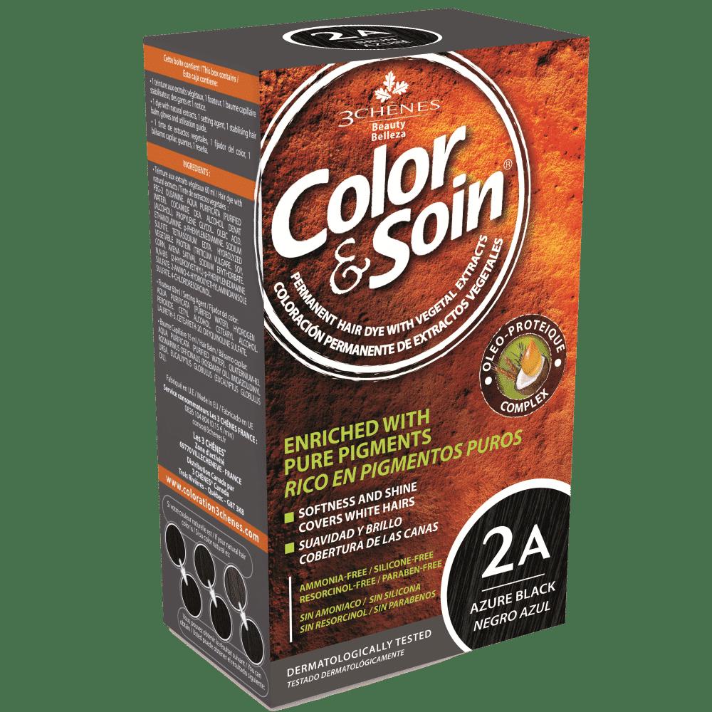 tinta permanente 2a color e soin