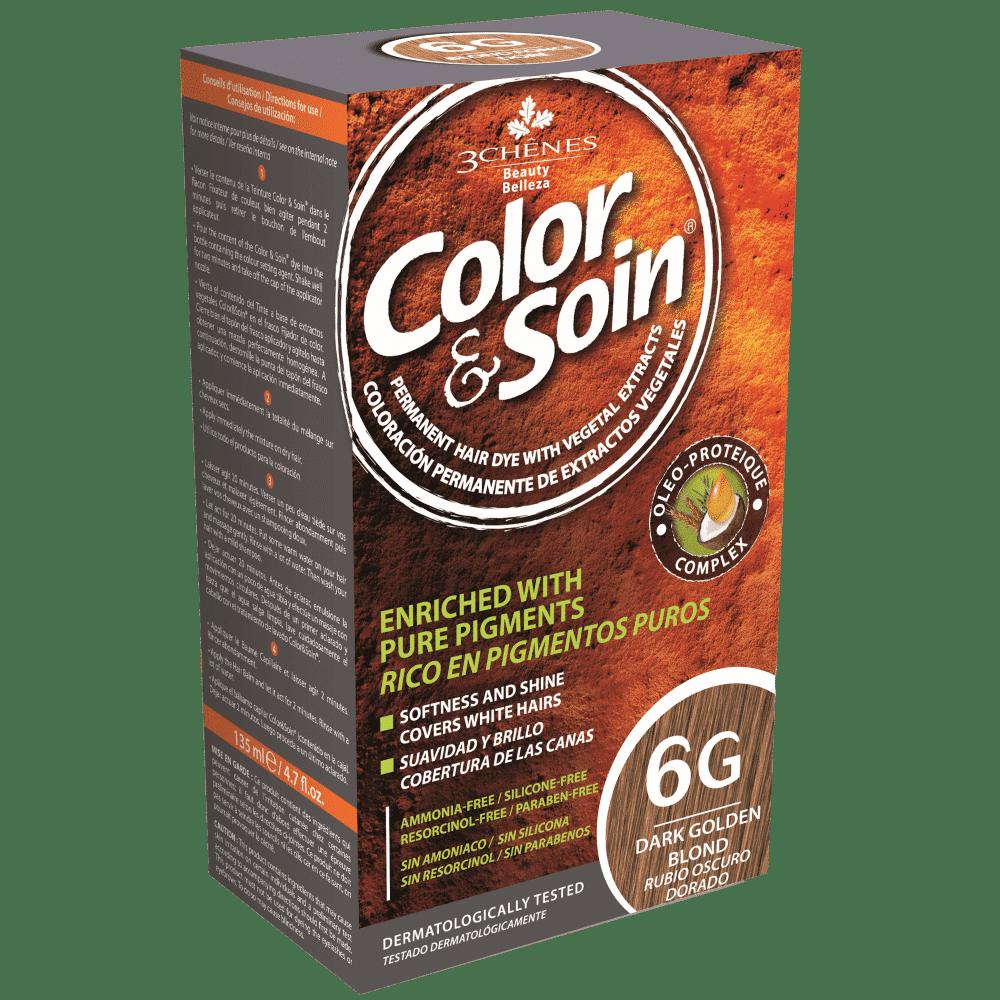 tinta permanente 6g color e soin