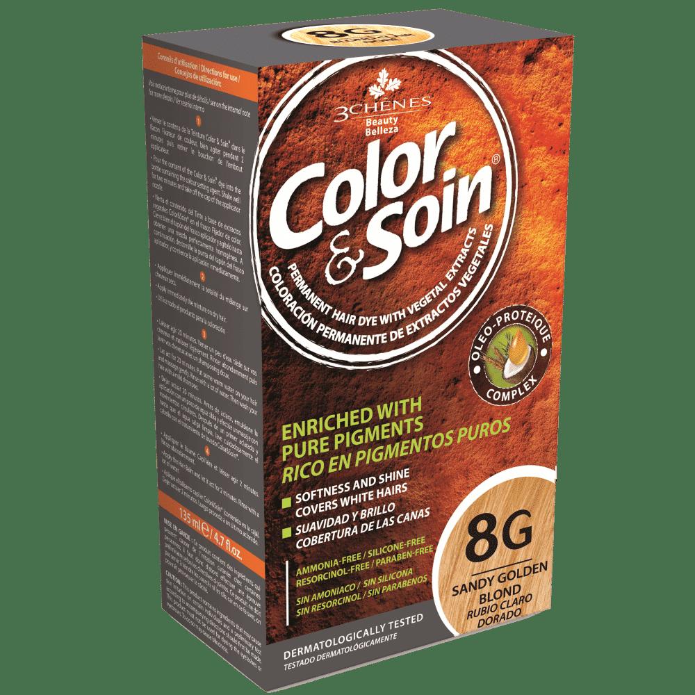 tinta permanente 8g color e soin