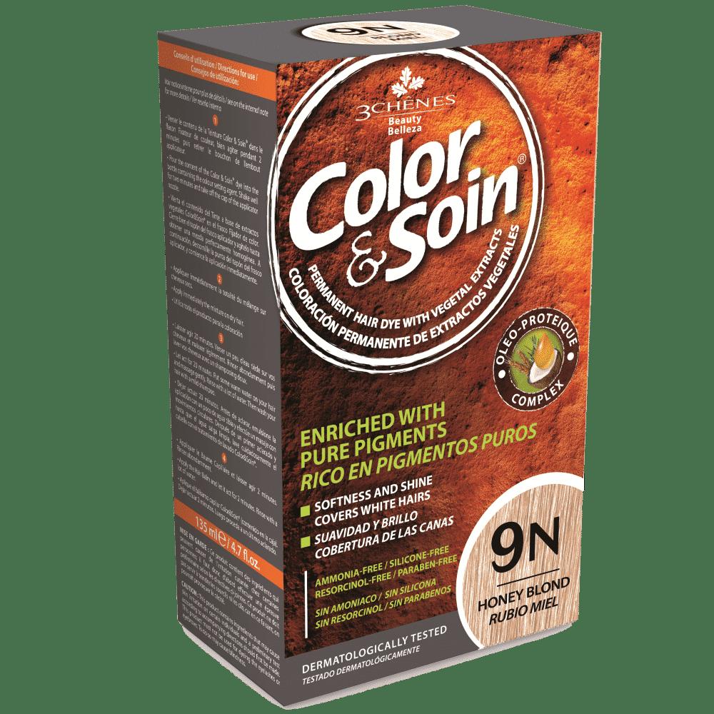 tinta permanente 9n color e soin