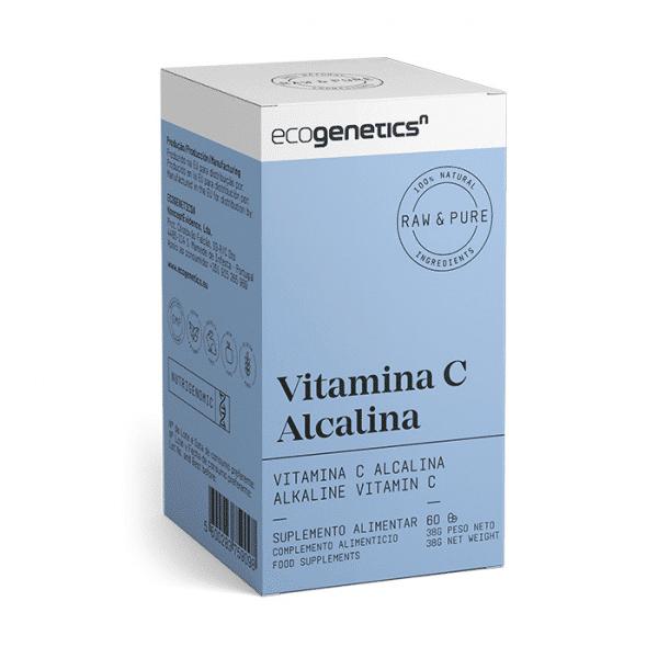 vitamina c alcalina caixa ecogenetics