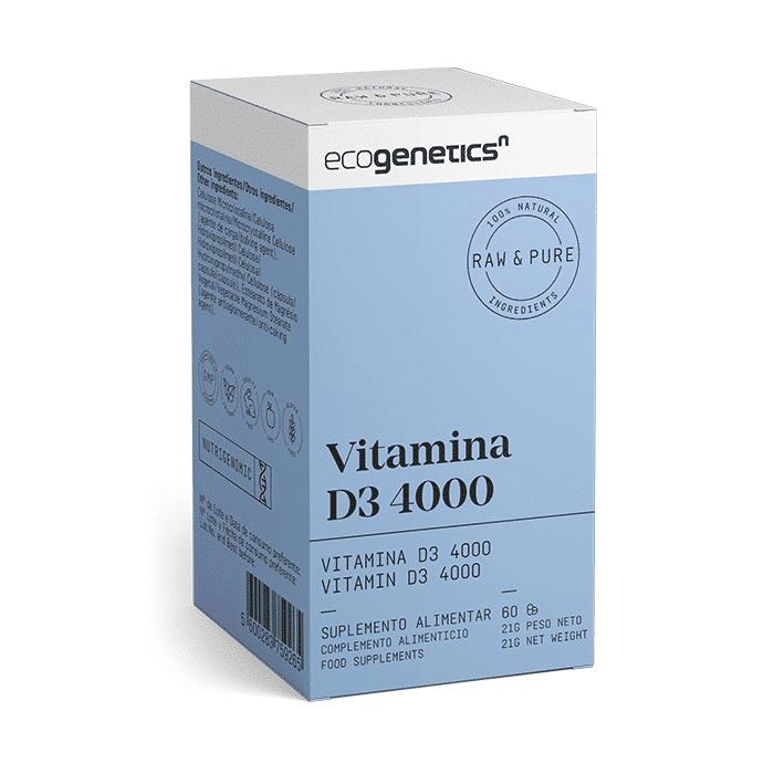 vitamina d3 4000 caixa ecogenetics