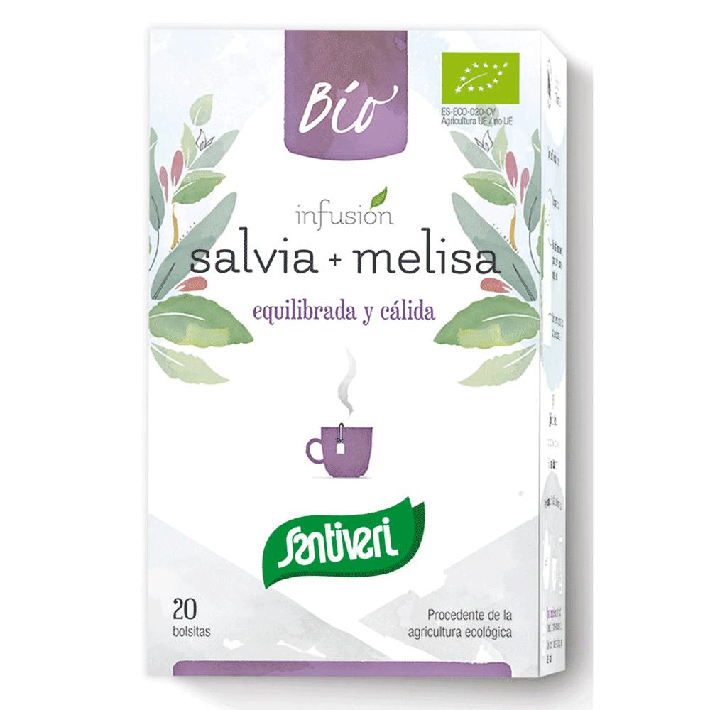 SANAFLOR-Infusão-SALVA e erva cidreira-santiveri