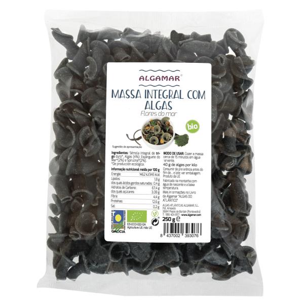 massa integral com algas flor do mar algamar