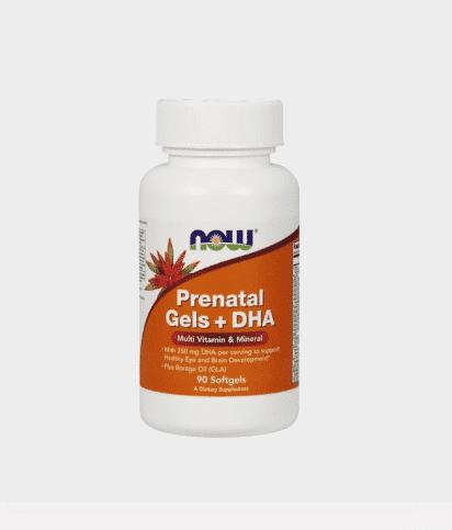 prenatal gels + dha
