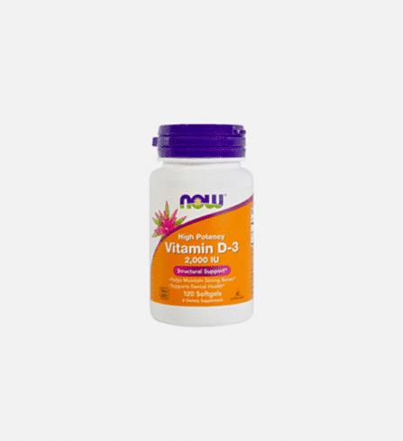 vitamin d-3 2,000 IU now