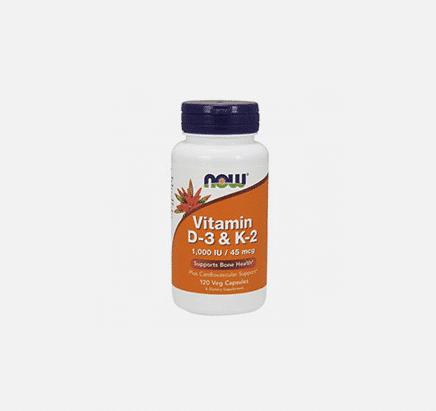 vitamin d-3 & k-2 now
